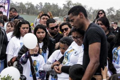 """""""Sin saberlo eras nuestro ángel"""": el emotivo funeral de bebé baleado en La Pintana"""