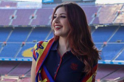 La influencer chilena que se transformó en refuerzo del Barcelona
