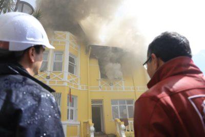 Incendio afecta a recién inaugurada residencia para menores del Sename