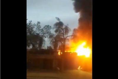Al menos 15 caballos muertos: registran incendio en viviendas y pesebreras de Cerro Navia