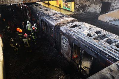 Los cargos que enfrentan los siete detenidos por daños en las estaciones del Metro