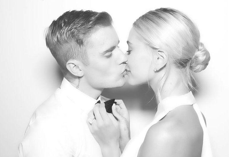 FOTOS  Revelan las primeras imágenes del matrimonio entre Justin Bieber y Hailey Baldwin