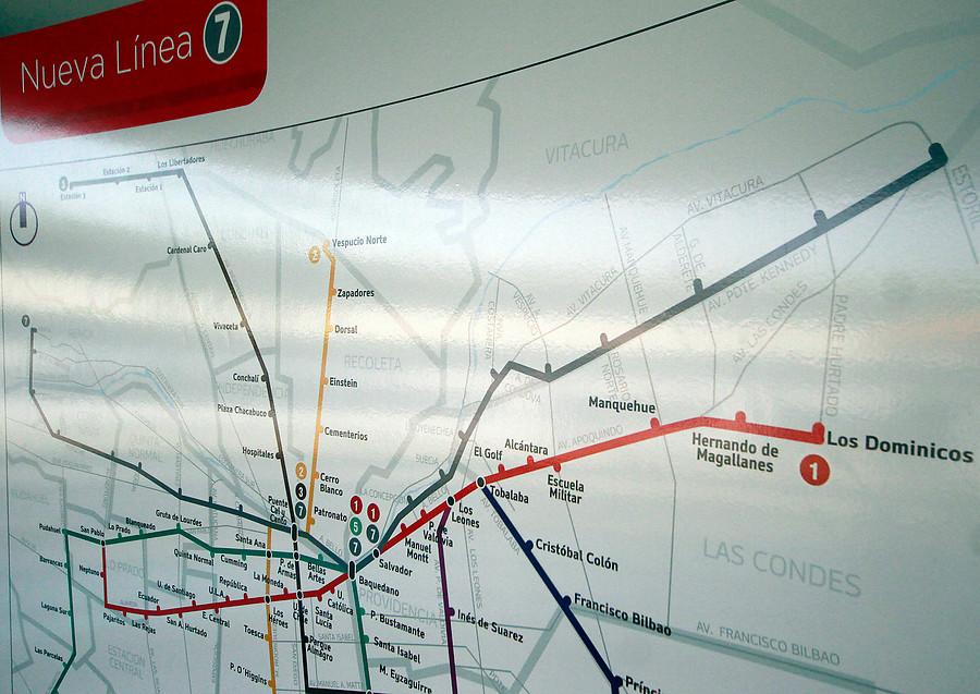 Cuestionamientos de los vecinos a la Línea 7 del Metro