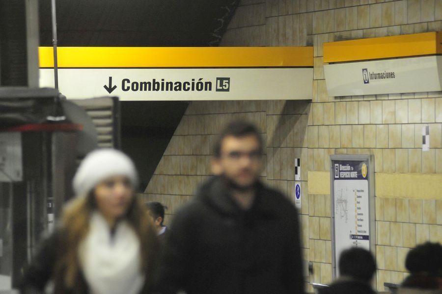 Metro cierra estaciones de la L5 por manifestaciones