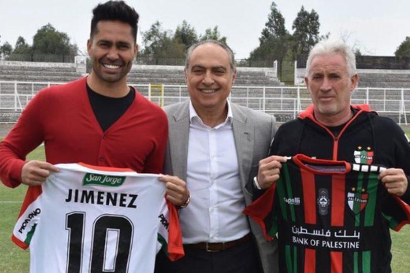 """Luis Jiménez en su regreso a Palestino: """"Acá están las condiciones para disfrutar del fútbol"""""""