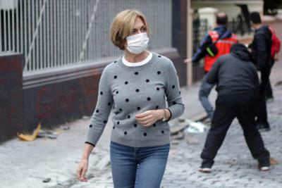 """Evelyn Matthei por destrozos en Providencia: """"Vayan a organizar marchas a otro lado"""""""