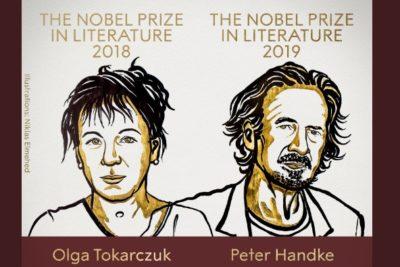 Premian a Olga Tokarczuk y Peter Handke con el Nobel de Literatura