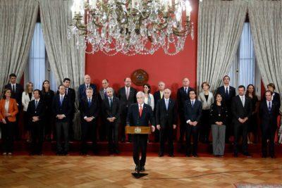 El nuevo gabinete de Sebastián Piñera en cifras