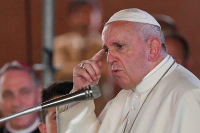 """Papa Francisco pide """"diálogo"""" y esfuerzos para """"encontrar una solución a la crisis"""" en Chile"""