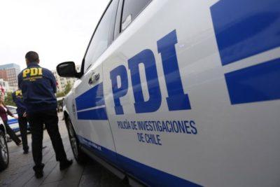 Amplio operativo de la PDI por presunto secuestro en pleno centro de Santiago