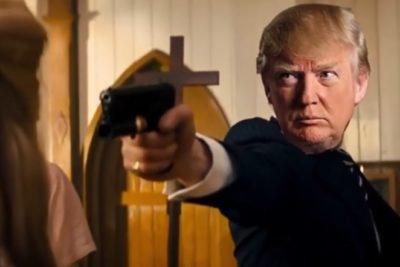 Polémica por videomontaje de Trump disparando y apuñalando a periodista y políticos opositores