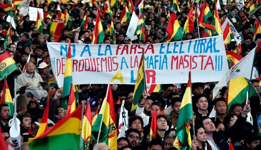 Diputados del PC y FA dicen que manifestaciones en Bolivia son un golpe de Estado