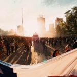 Un mes en Plaza Italia, la zona cero del estallido social en Chile