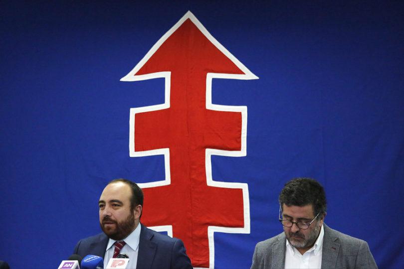 Juventud Demócrata Cristiana se tomó sede del partido para demandar unidad