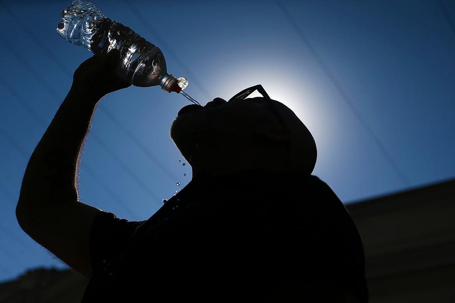 Santiago vive el noviembre más caluroso de los últimos 10 años