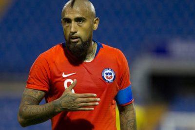 """Arturo Vidal: """"Sería lindo ganarle a Perú para que la gente se olvide un poco de lo que está pasando"""""""