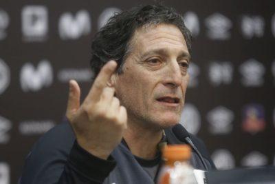 """Mario Salas: """"Hay señales que muestran que no están las condiciones para jugar"""""""