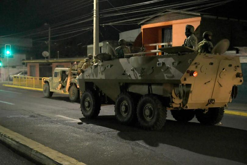 Corte Suprema ordena libertad a soldado que se negó a participar del Estado de Emergencia