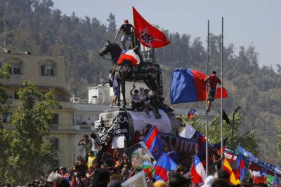 Municipalidad de Providencia evalúa retirar estatua de general Manuel Baquedano