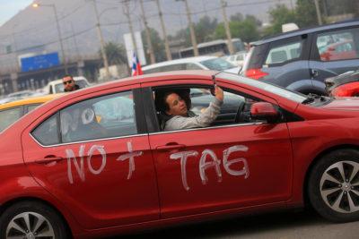 """""""No + TAG"""" reiteró llamado a protesta tras no llegar a acuerdo con el MOP"""
