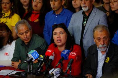 """Unidad Social y balance de cabildos: """"La mayoría quiere Asamblea Constituyente"""""""