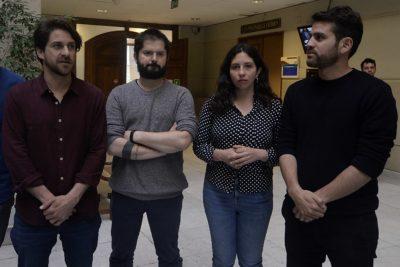Diputados Boric, Ibáñez, Yeomans y Winter visitarán en la cárcel a profesor imputado por destrozos en el Metro