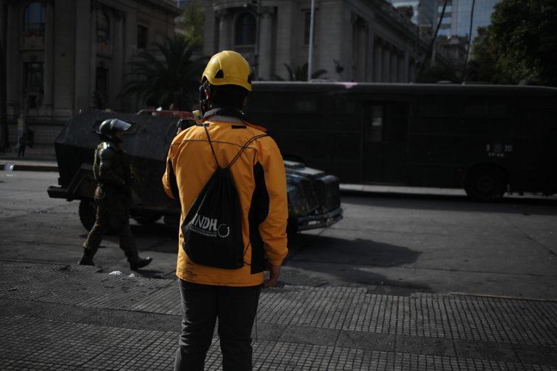 Crisis social: INDH reporta 345 querellas interpuestas contra agentes del Estado