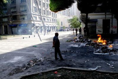 Gobierno informa disminución a la mitad de eventos graves durante movilizaciones