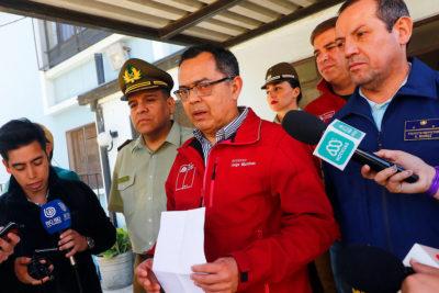 Intendente de Valparaíso emplaza a Sharp y pide que Carabineros puedan usar balines