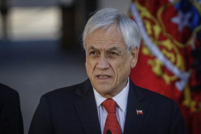 """Piñera pidió mayor despliegue de ministros por llamado a """"paz social"""""""