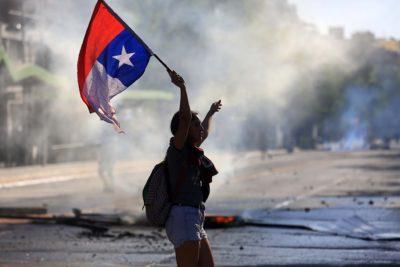 FOTOS | Así quedaron las calles y locales comerciales de Providencia tras manifestaciones