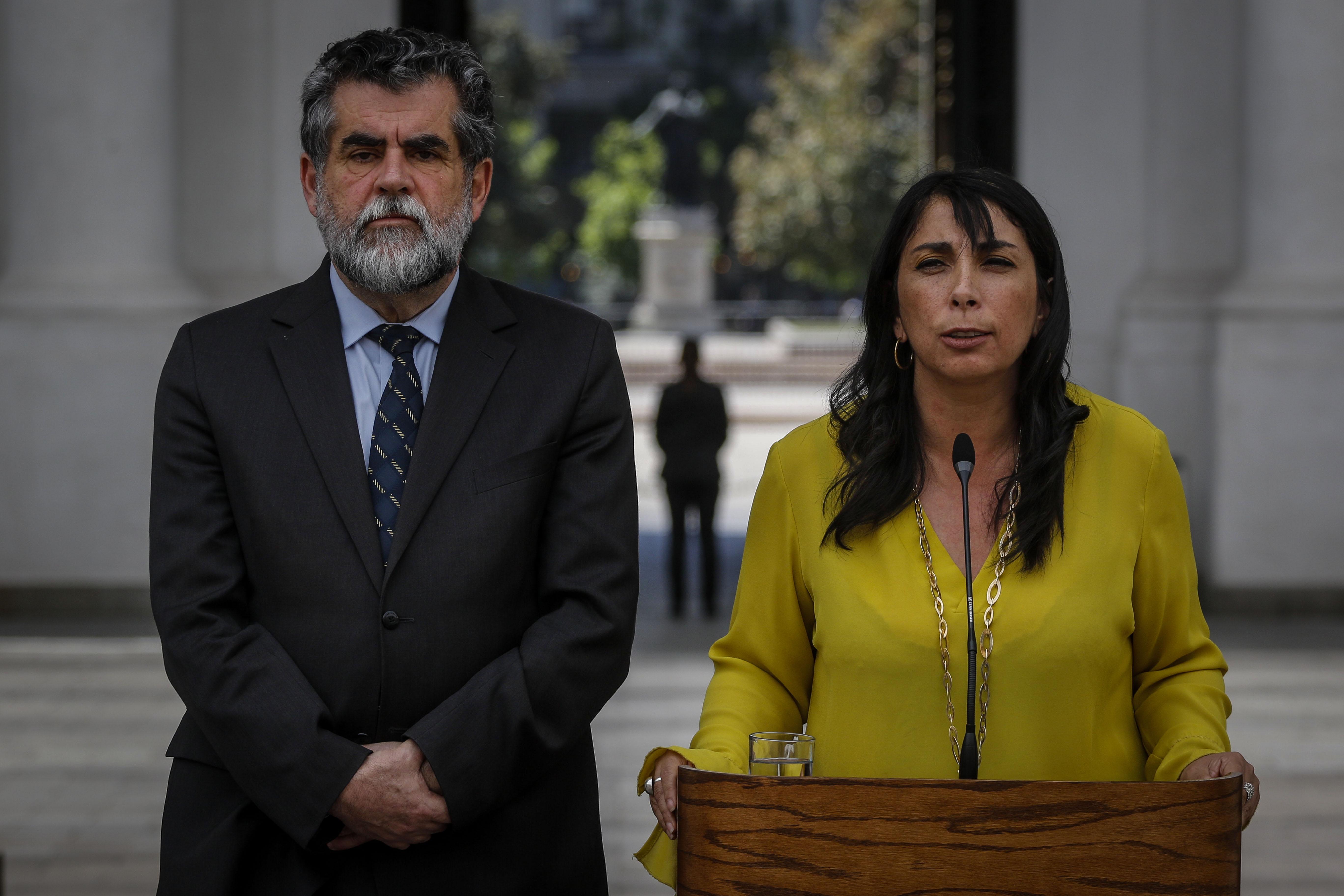 """""""Gobierno entrega balance sobre llamado a paro nacional"""""""