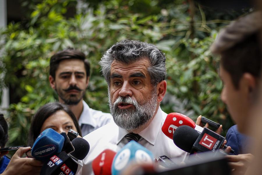Carabineros: La Moneda respalda a Mario Rozas tras filtración de audio