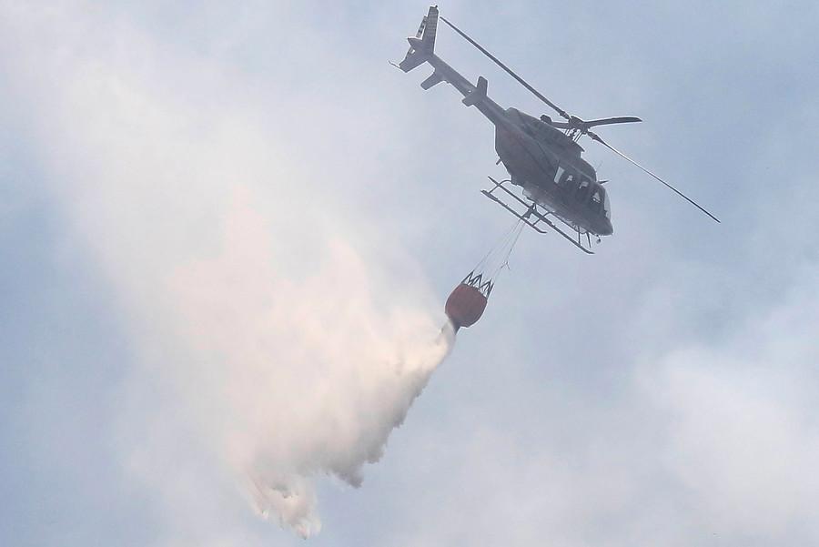 """""""Se declara Alerta Roja en Pudahuel por incendio forestal"""""""