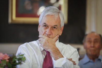 Encuesta Cadem: aprobación de Sebastián Piñera llega a nuevo mínimo histórico