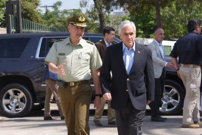 """Piñera anuncia proyecto de ley para que FFAA protejan """"infraestructura crítica"""" del país"""