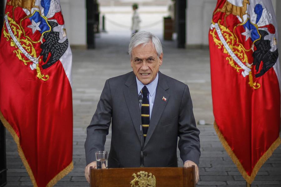 """""""Presidente Piñera pide que proyectos sobre seguridad se transformen en ley"""