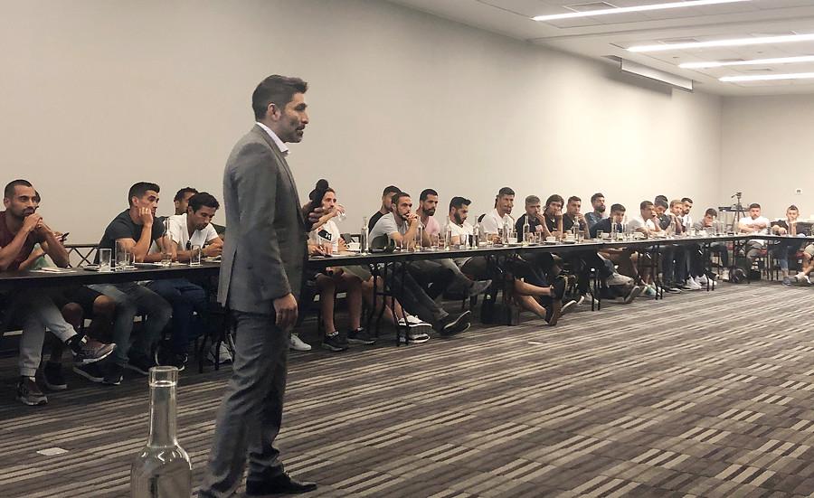 """""""Gamadiel García y la opción de jugar con juveniles:"""