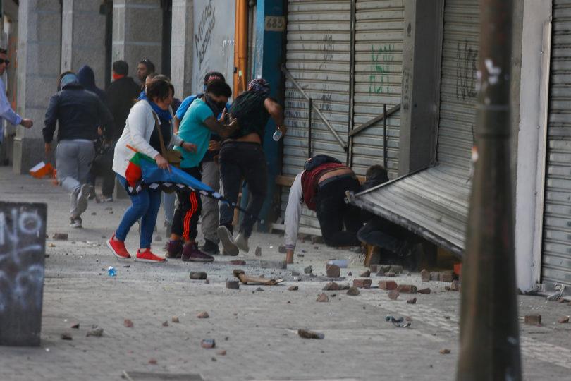 20 mil personas han sido imputadas por saqueos y desórdenes desde el 18 de octubre