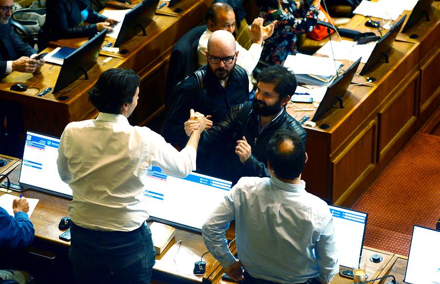 Cámara de Diputados aprobó por unanimidad rebaja a la dieta parlamentaria