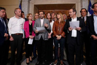 Senadores firman declaración por la paz, los DD.HH. y el orden público