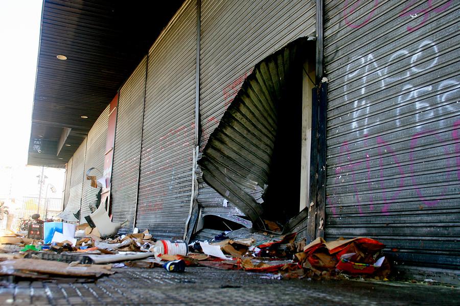 La violenta noche en La Cisterna y el ataque a subestación eléctrica de CGE en Copiapó