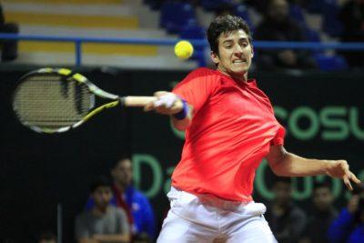 Garín salva el honor de Chile en Copa Davis tras vencer a Struff