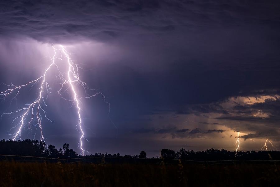 La Araucanía: Declaran alerta preventiva por tormentas eléctricas