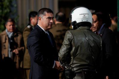 """Desbordes suma críticas a Amnistía: calificó informe de """"sesgado"""" y al organismo de """"trinchera"""""""