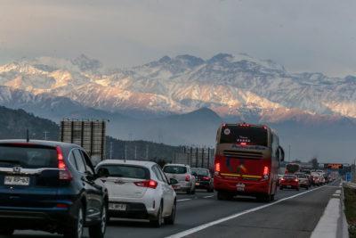 MOP implementa medidas por masivo retorno de automovilistas a la RM
