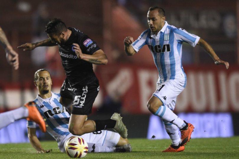 Marcelo Díaz se desgarró y estará tres semanas fuera de las canchas en Racing
