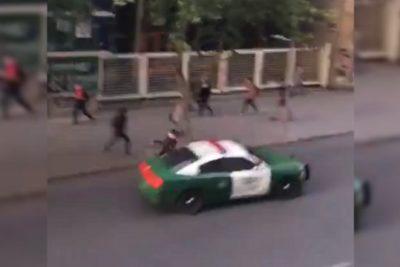 VIDEO   Radiopatrulla de Carabineros atropelló a persona que intentó cruzar la calle