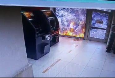 Cámaras de seguridad confirman que cajero de BancoEstado sí fue incendiado