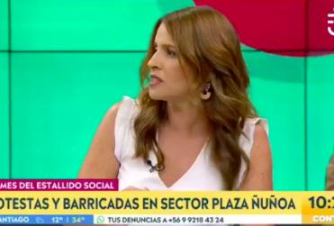 La discusión de Monserrat Álvarez y Felipe Harboe en matinal de CHV
